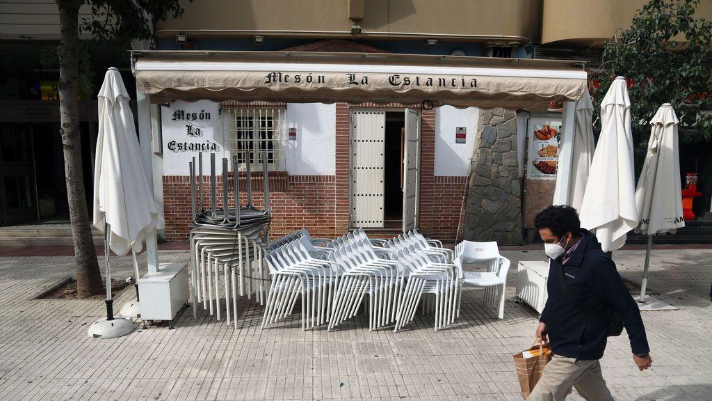 Bares cerrados en Málaga