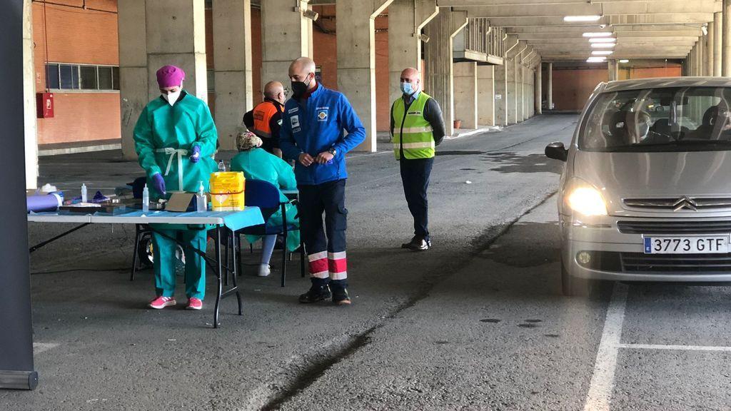 Vacunación en Huelva