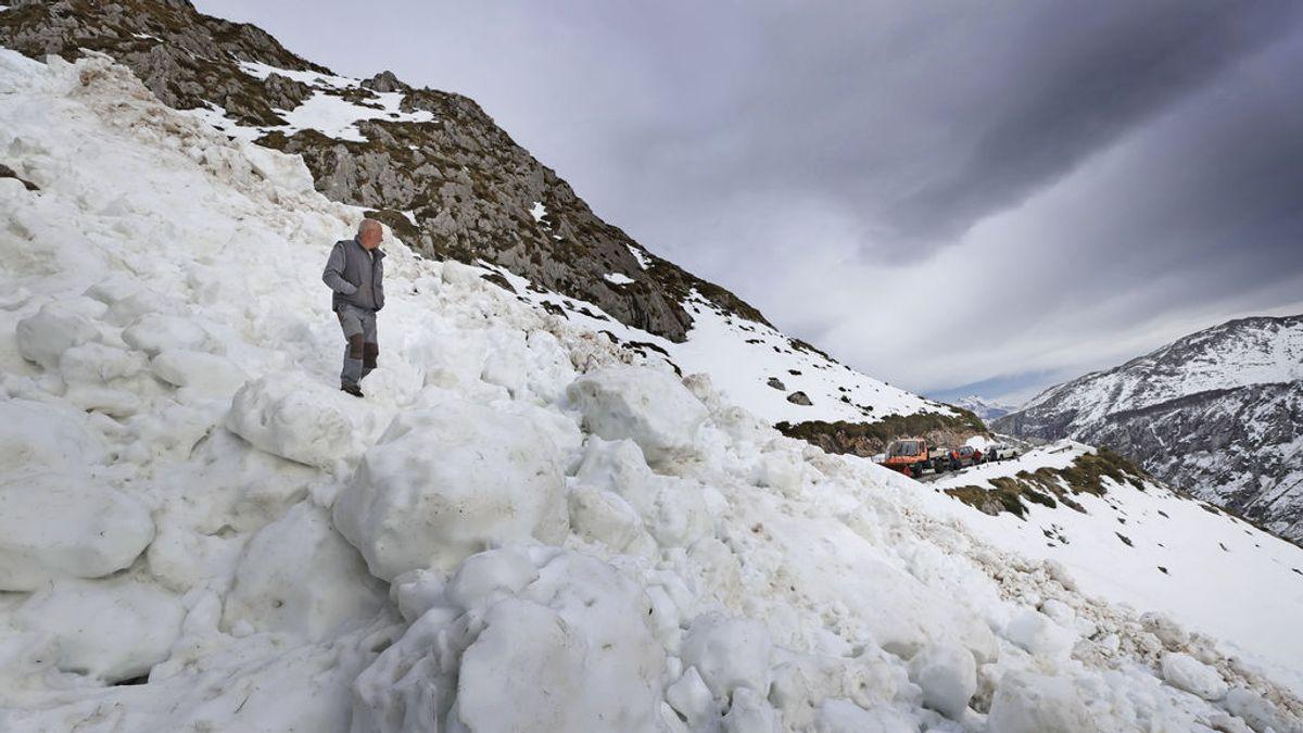 Alerta ante el riesgo de aludes de 3 sobre 5 en la sierra de Guadarrama para este fin de semana