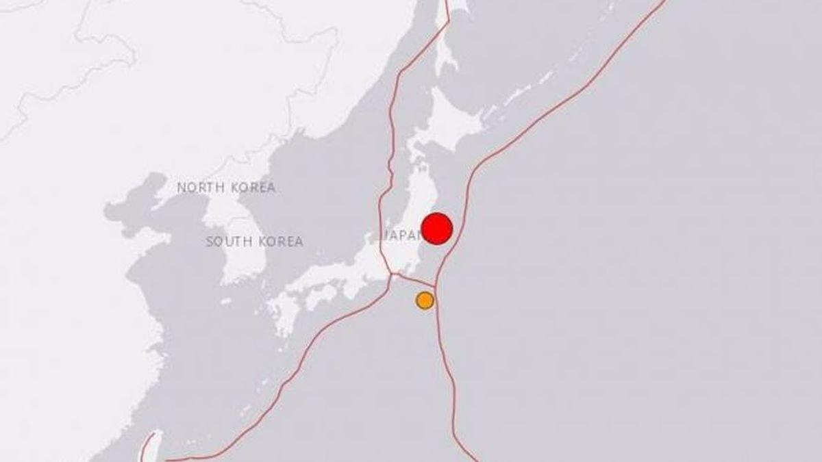 Registrado un terremoto de magnitud 7 cerca de Fukushima (Japón)
