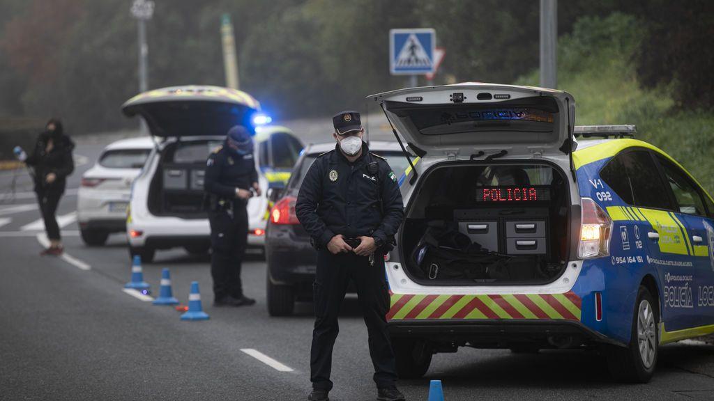 Control de movilidad en Sevilla