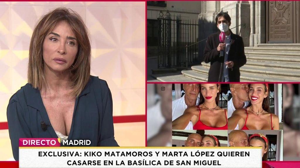 Sabemos dónde se quieren casar Kiko y Marta