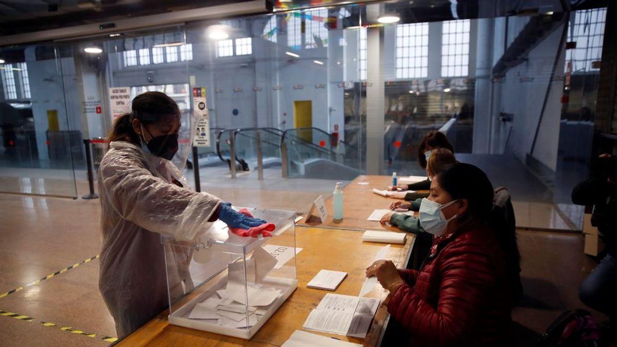 'Eleccions 14F', la app que te permite saber en tiempo real el nivel de ocupación en los colegios electorales