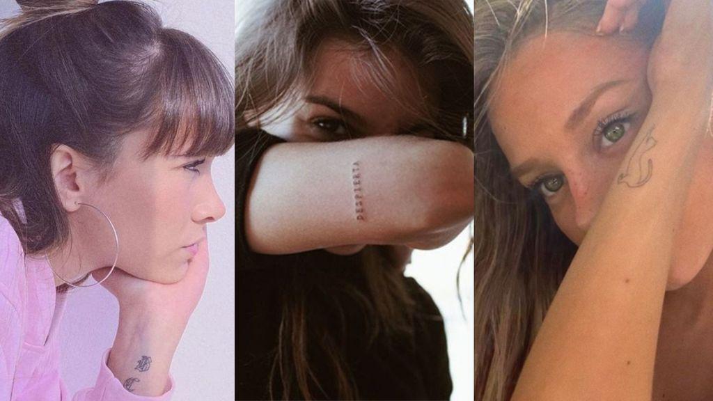 Aitana, Ester Expósito o Ana Guerra: el ejemplo perfecto de cómo lucir tatuajes pequeños y discretos