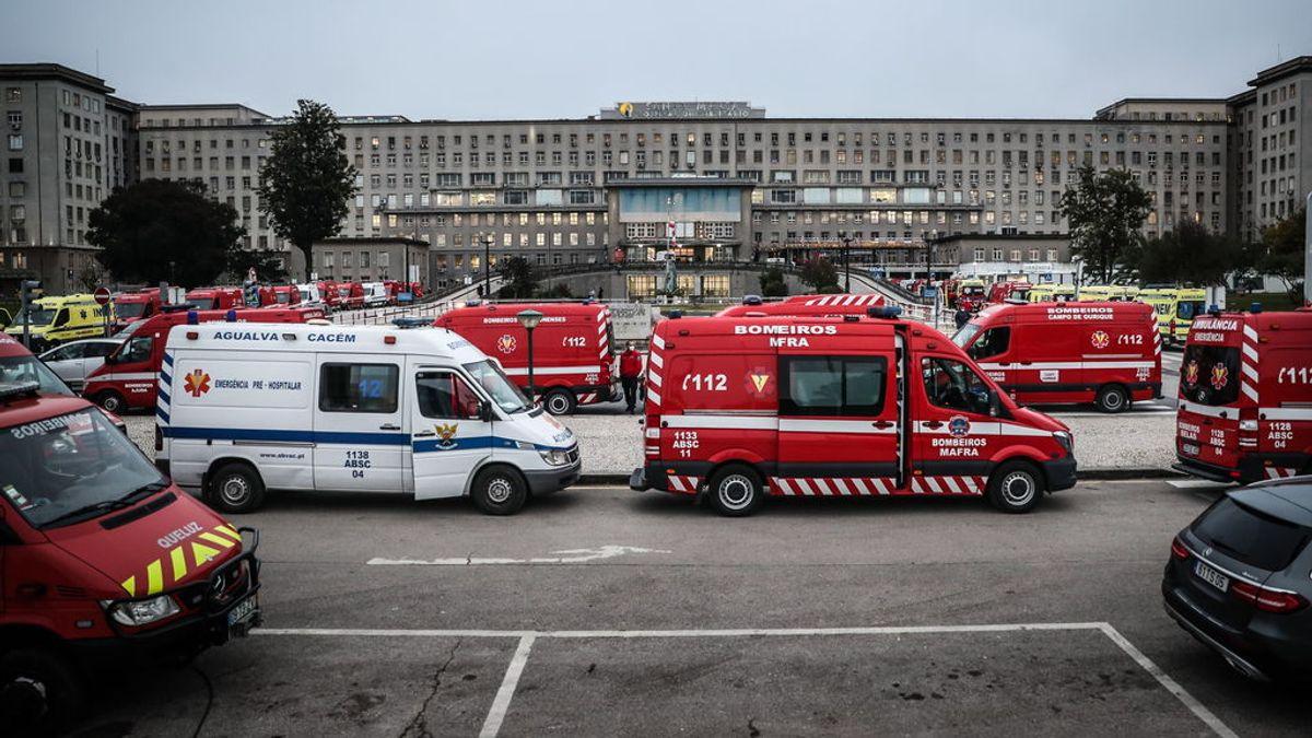 Médicos de Francia y Luxemburgo para ayudar en las UCI colapsadas de Portugal