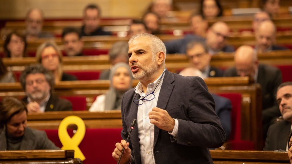Carlos Carrizosa (Ciutadans), en el Parlament