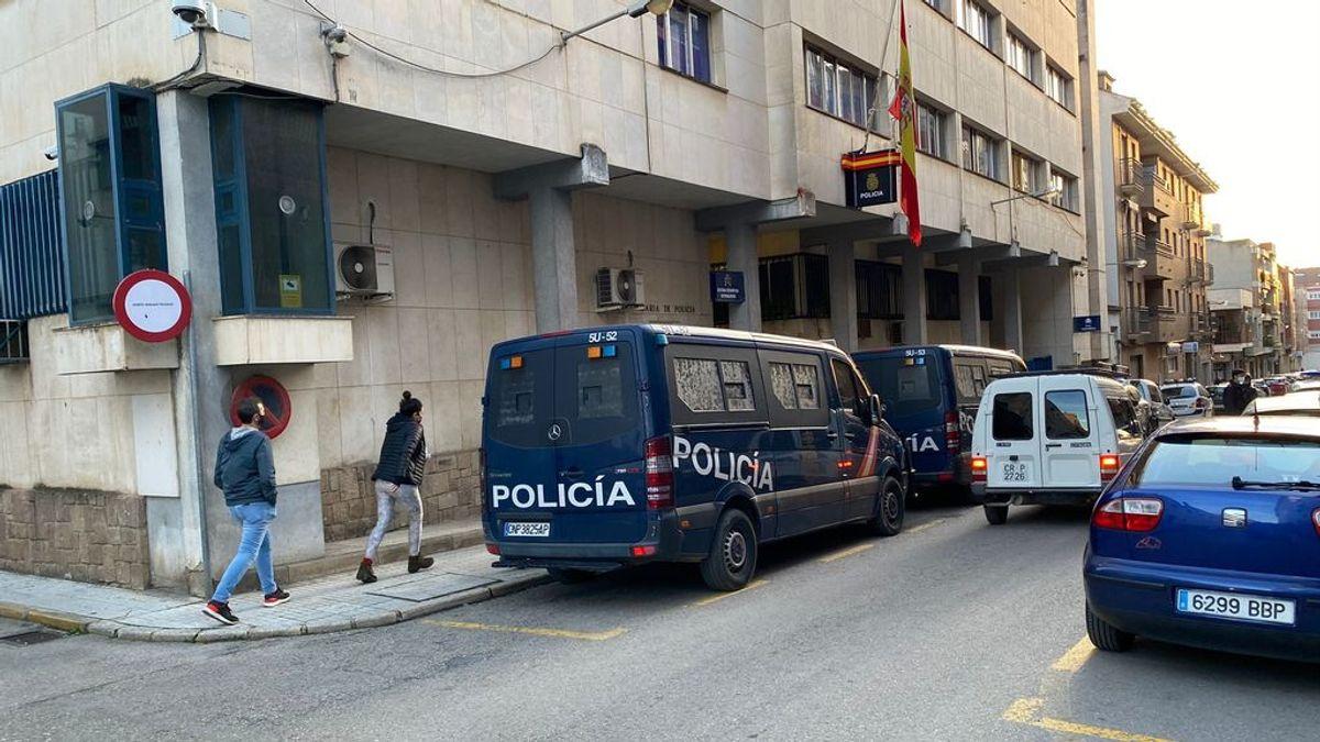 Antidisturbios en Linares