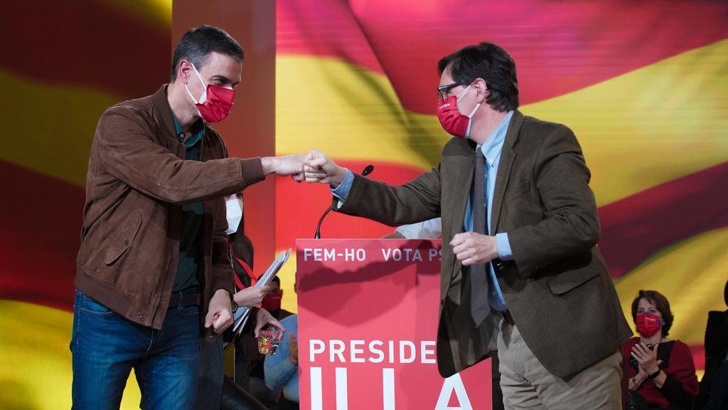 Sánchez celebra la victoria de Illa y del socialismo en Cataluña y ve posible el cambio