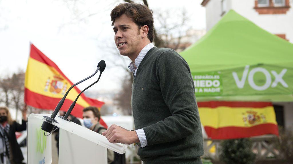 Alberto Tarradas: polémico agitador en twitter, cabeza de lista de Vox por Girona