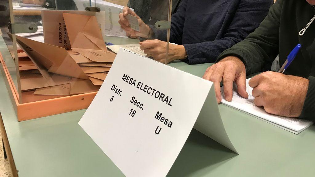 Las comarcas independentistas, más movilizadas que las constitucionalistas según la participación de las 18h