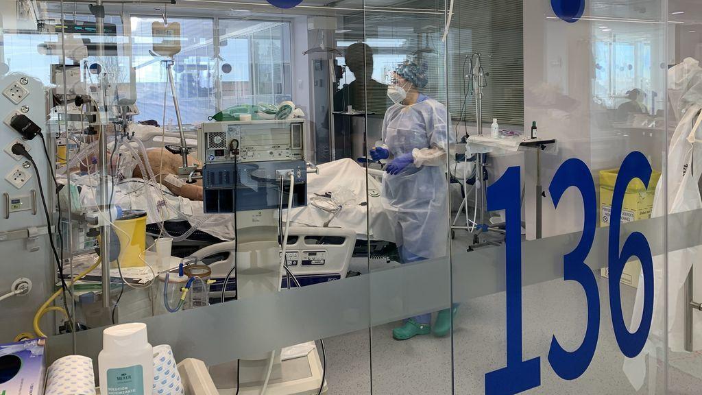 UCI del Hospital Clínico de Málaga