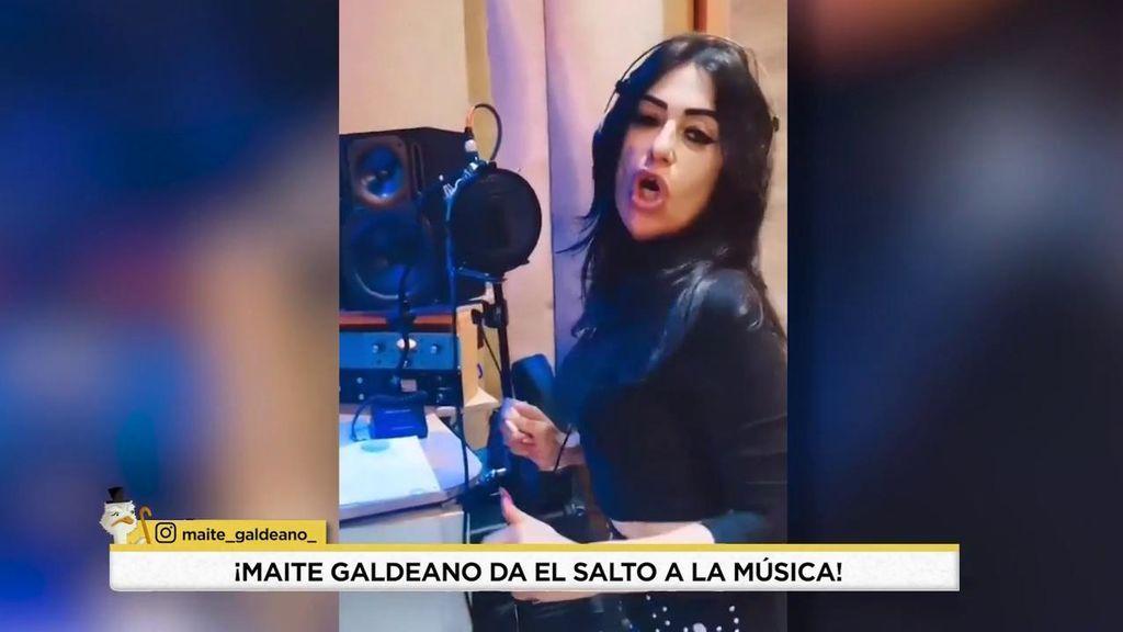 Maite Galdeano graba su propia canción