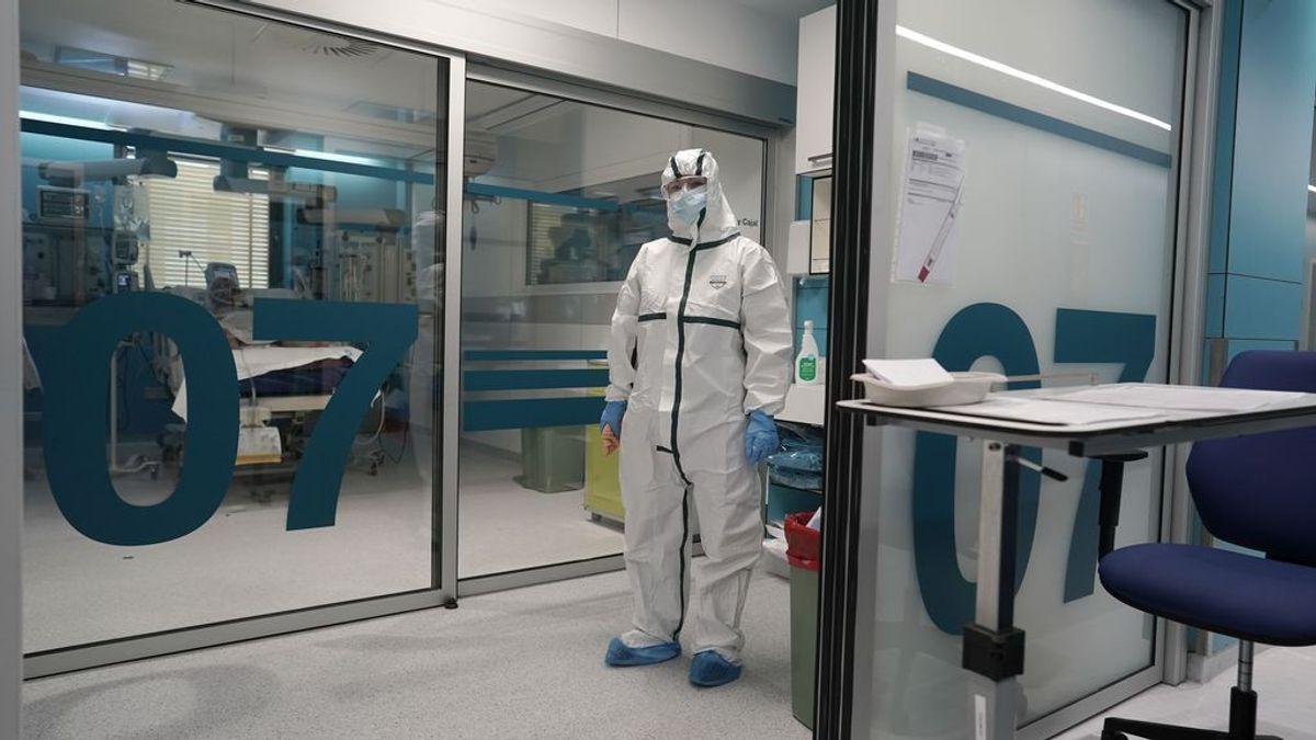 Madrid notifica un descenso de casos, con 835 nuevos contagios, y suma 45 muertes en un día