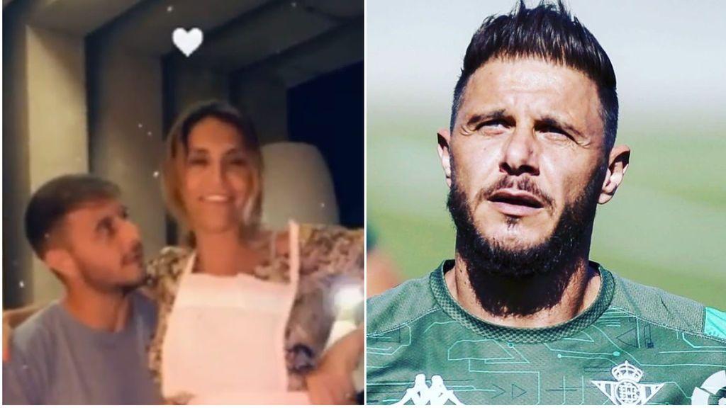 """Joaquín se pone de lo más romántico con su mujer en San Valentín, aunque no le falta el humor: """"Con el delantal de Lina Morgan"""""""
