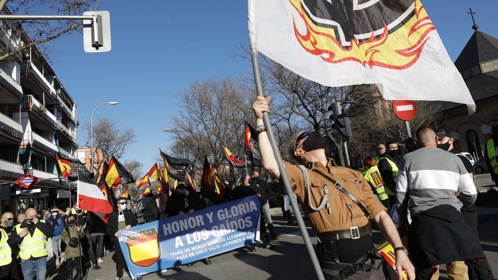 La Comunidad de Madrid pide a la Fiscalía que investigue supuestos gritos antisemitas en un homenaje a la División Azul