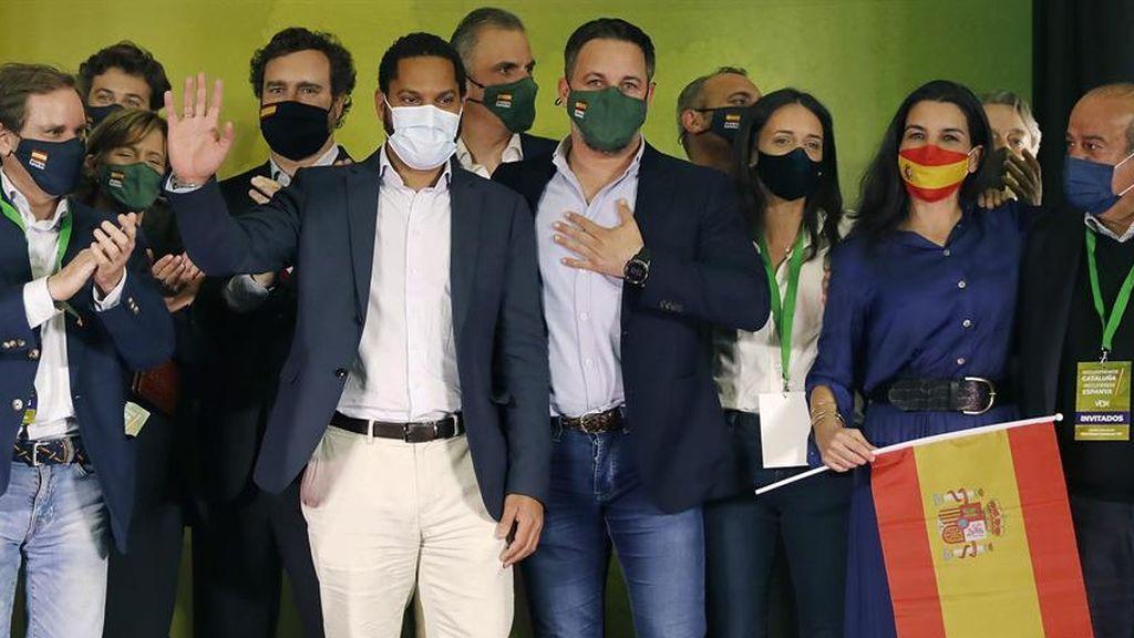 Vox se convierte en la cuarta fuerza política de Cataluña y barre al PP hasta la última posición