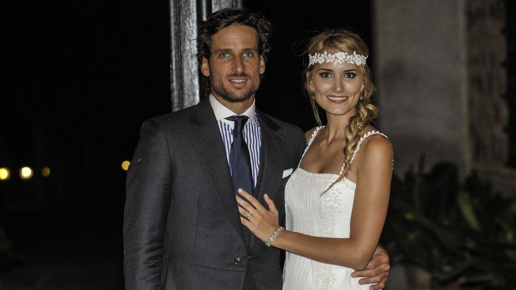 Feliciano le pidió el divorcio a Alba un mes antes de celebrar su primer año de casados.