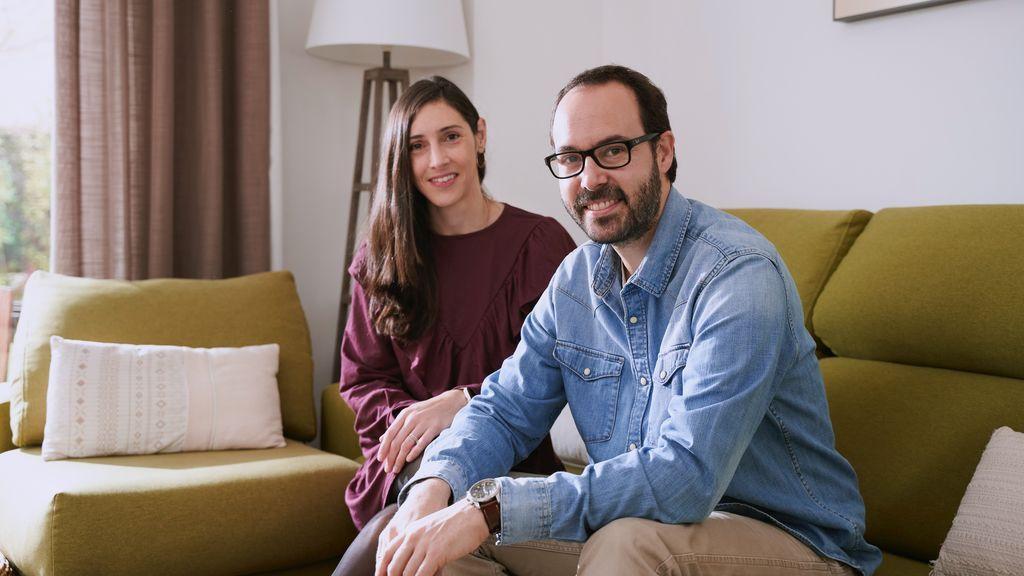 Gonzalo Oñoro y Elena Blanco, 'Dos pediatras en casa'