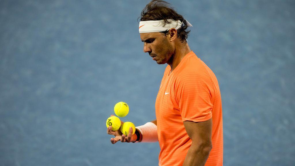 Rafa Nadal venció a Fognini en tres sets.