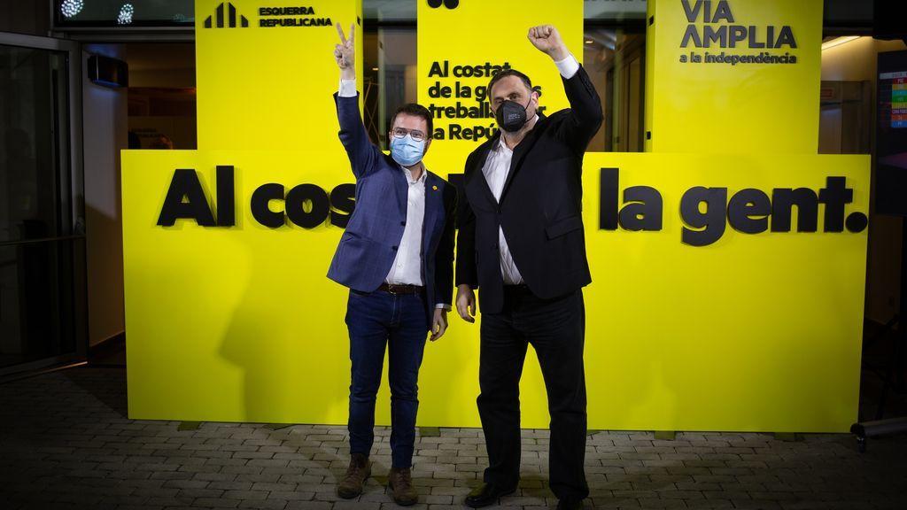 """Aragonès (ERC) reclama un referéndum a Sánchez: """"Es la hora de sentarse y resolver el conflicto"""""""