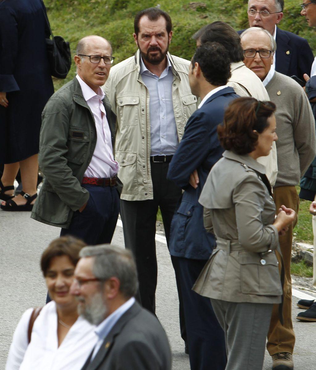 El padre de Letizia, en unos actos en Covadonga en 2018
