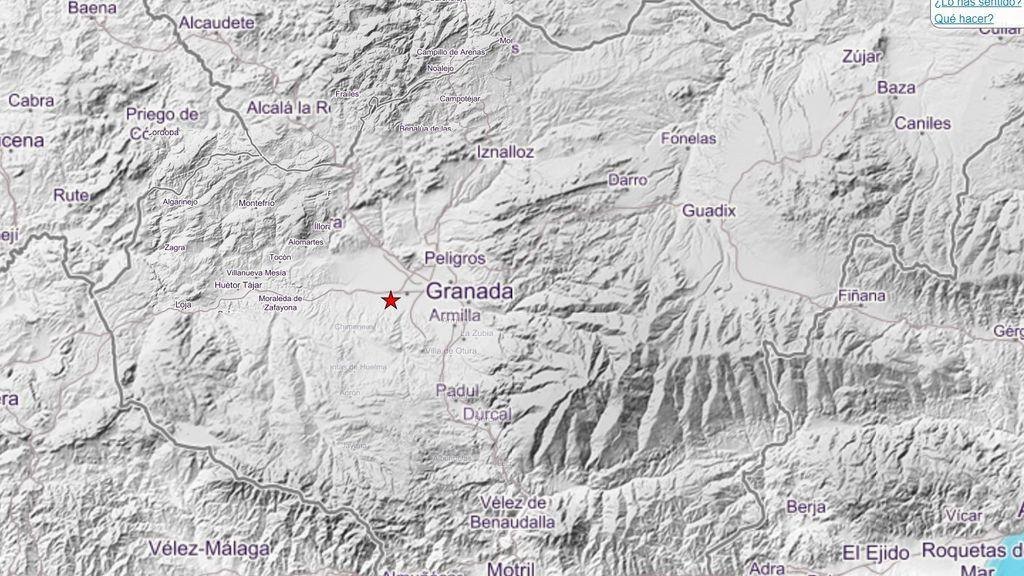 Un nuevo terremoto de 3,5 grados sacude Granada