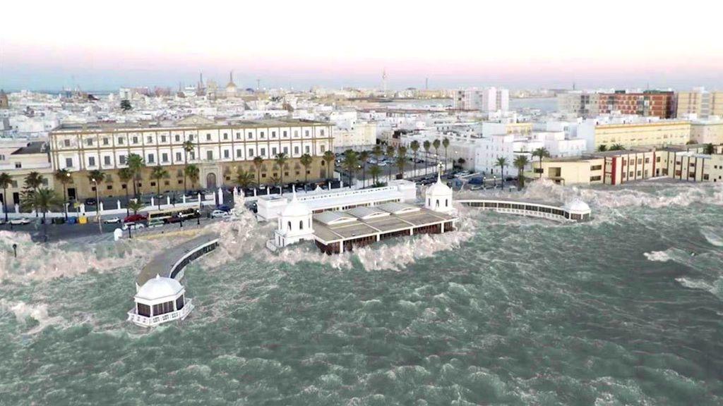 Cádiz se prepara para un posible tsunami de seis metros: así se está protegiendo Chipiona