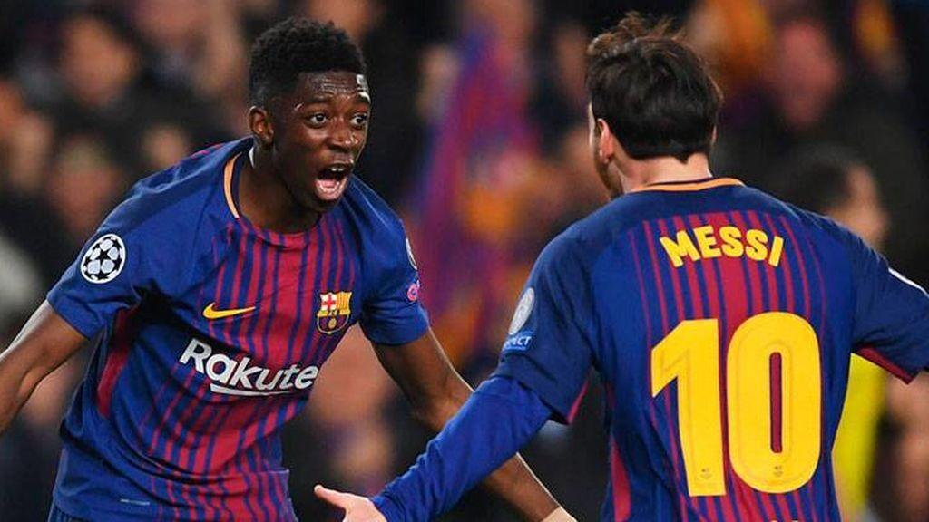 """Dembélé confiesa los consejos que le da Leo Messi para cambiar su ajetreada vida: """"Cálmate"""""""
