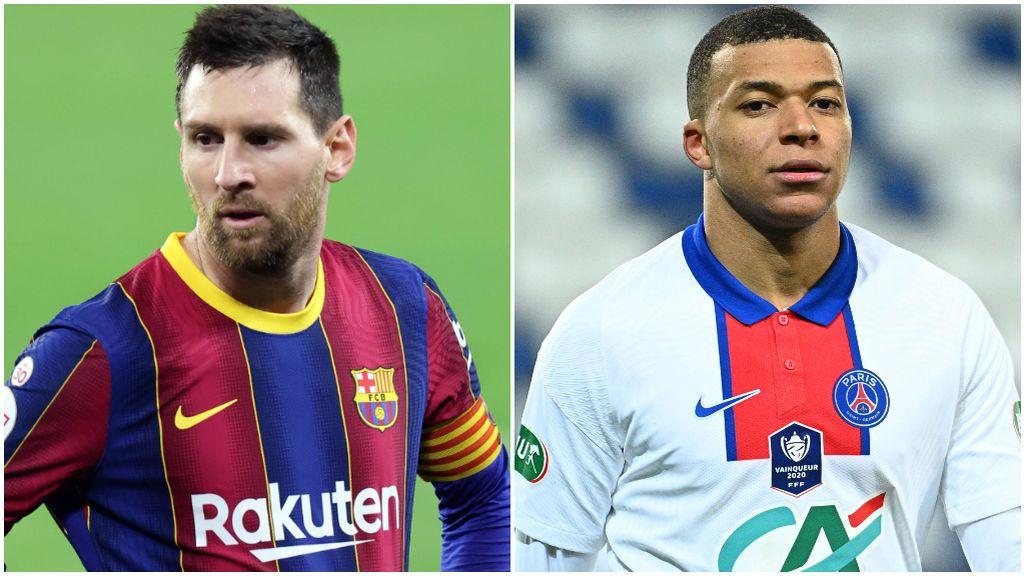 Messi no sería compatible con Mbappé.
