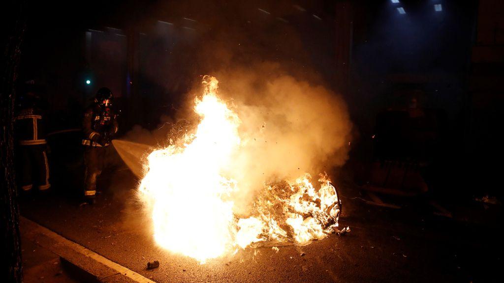 Los múltiples disturbios por la detención de Pablo Hasel, en imágenes