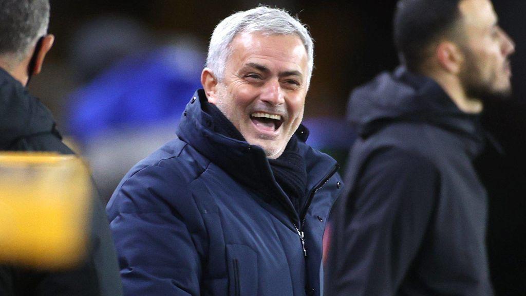 José Mourinho tiene contrato hasta 2023 con el Tottenham