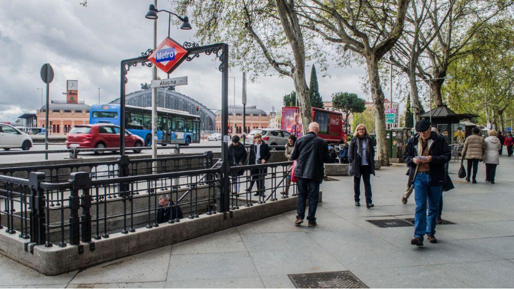 La estación de Metro Atocha Renfe cambiará de nombre: se llamará Atocha-Constitución del 78