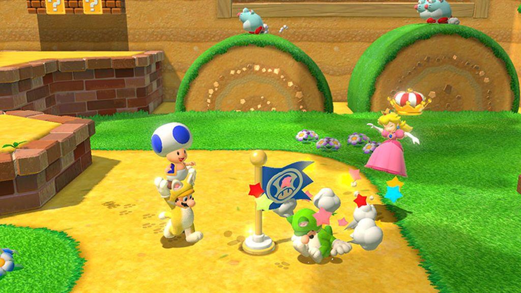 Super Mario 3D World en Nintendo Switch