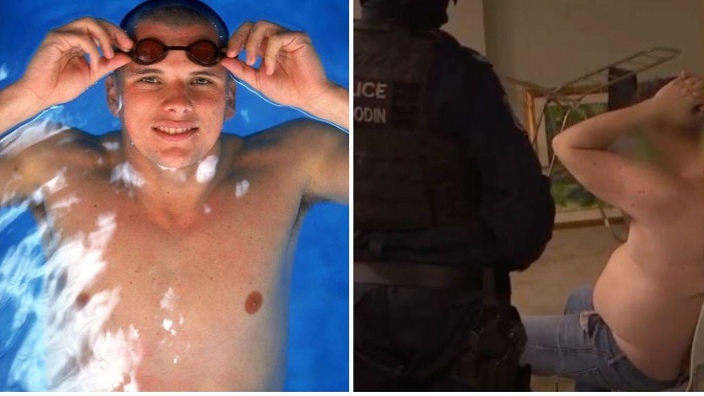 El nadador Scott Miller, detenido después de que la policía encontrara un millón de euros en metanfetaminas escondido en velas