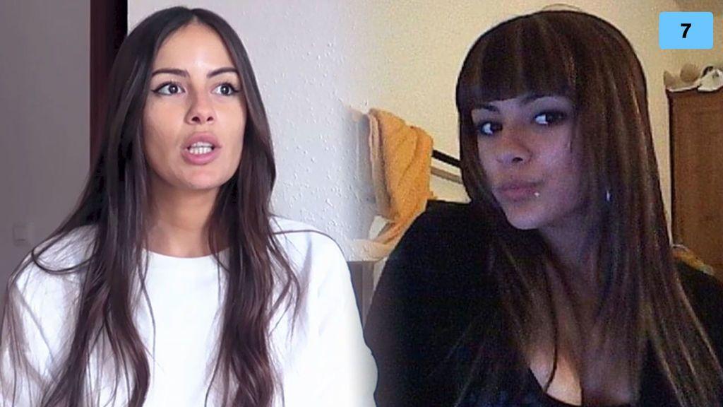 Así era el antes y después de Melyssa Pinto con su pelo: su impactante cambio (1/2)