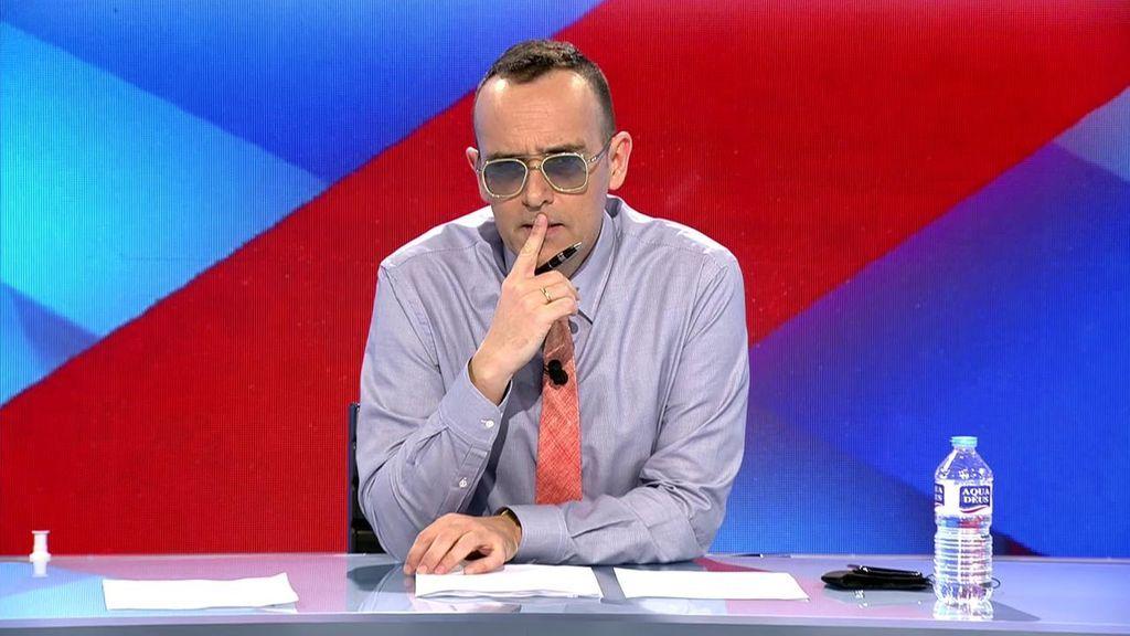 """Risto Mejide, muy crítico con el cambio de sede del PP: """"Es una cortina de humo para tapar el descalabro en Cataluña"""""""