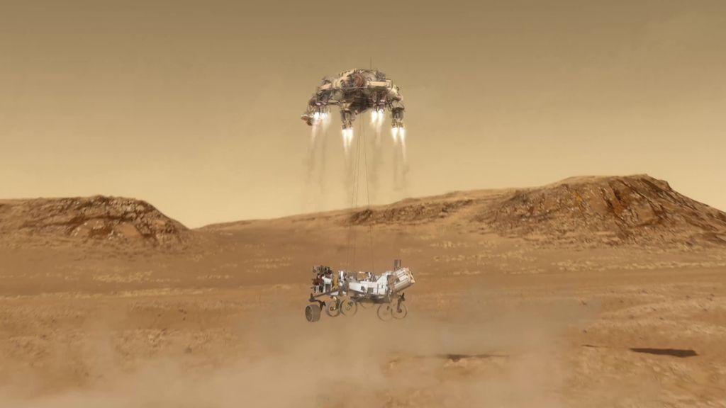 El Perseverance se acerca a Marte y prepara su desembarco en el Planeta Rojo