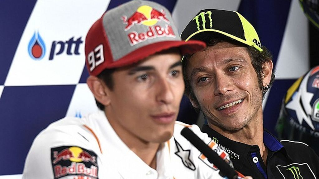 """El dolor de la madre de Valentino Rossi por la lesión de Márquez: """"Sufrí por él, aunque no sea mi hijo"""""""