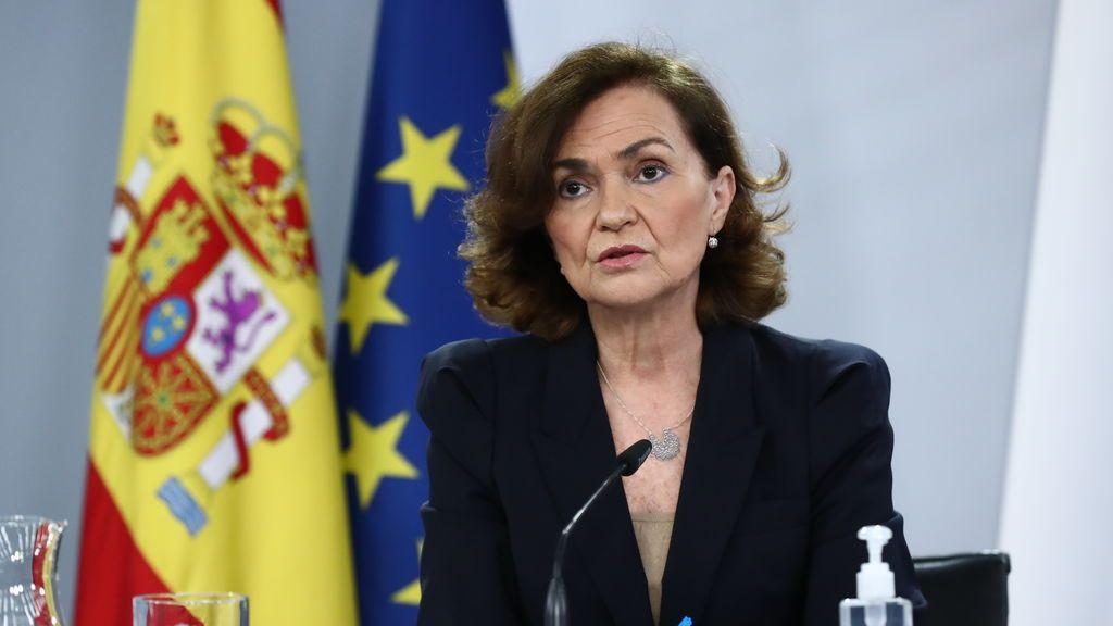 """""""Lo haremos bien"""": Carmen Calvo frena las urgencias de Irene Montero por sacar adelante la ley Trans"""