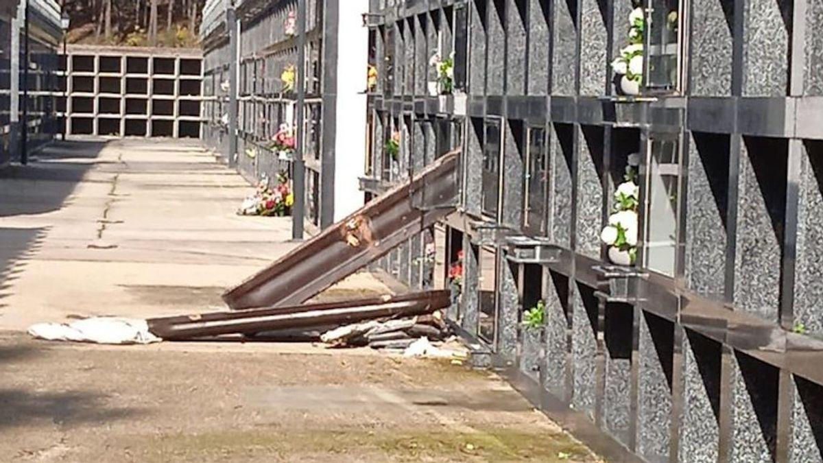 Profanan lápidas y abren ataúdes en un cementerio de A Coruña: se investiga si se llevaron restos de los difuntos