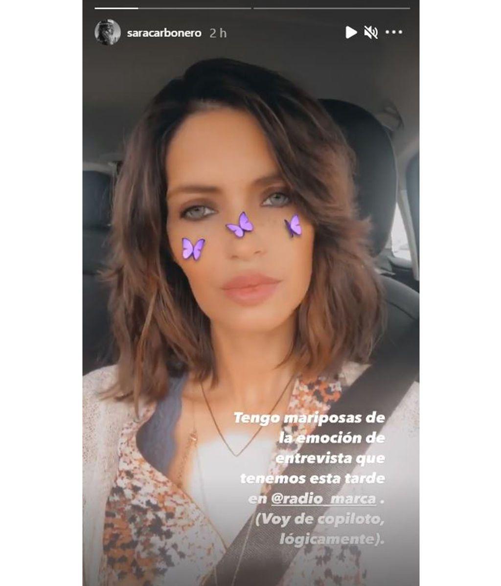 Sara Carbonero vuelve al trabajo tras su operación
