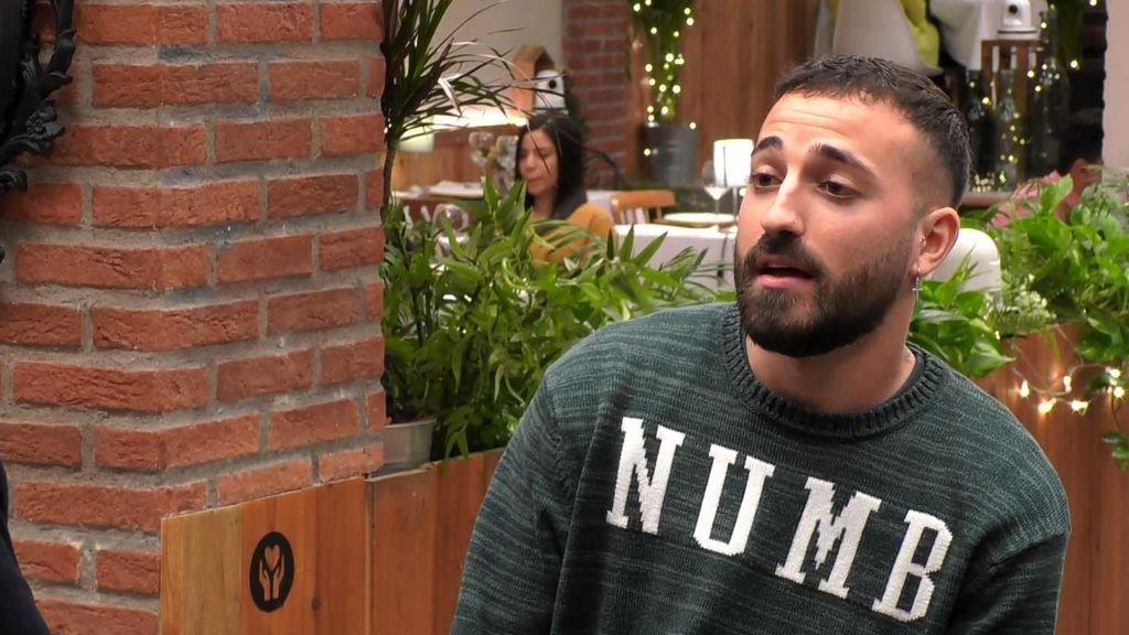 Christian,  entrevistado por Ibai antes de su cita
