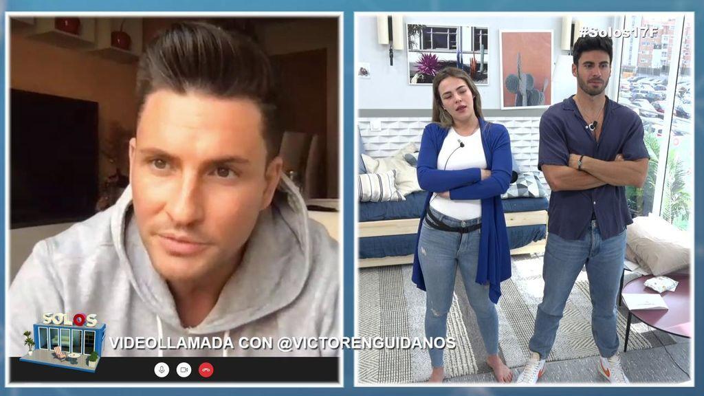 """Marta Peñate estalla contra Noel cuando él se mete con ella delante de Víctor Enguídanos: """"¡Tú lo que quieres es ridiculizarme!"""""""
