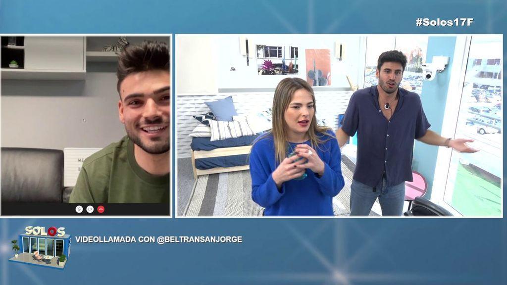 Beltrán reacciona al interés de Noel por su novia, Melodie