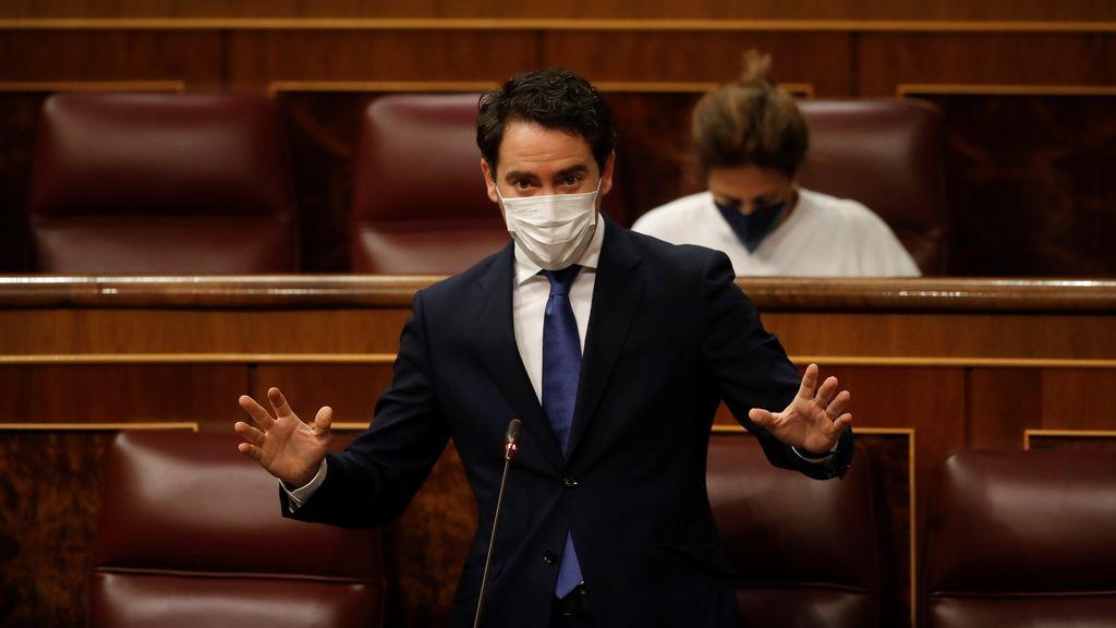 """García Egea a Iglesias que """"no hay rótulo que tape su incompetencia"""""""