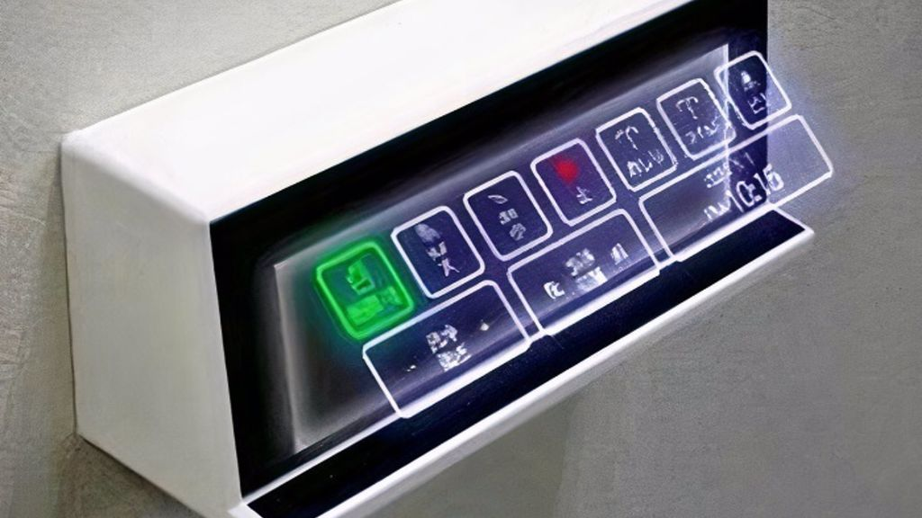 Una empresa japonesa desarrolla un sistema de botones holográficos para evitar tocar superficies