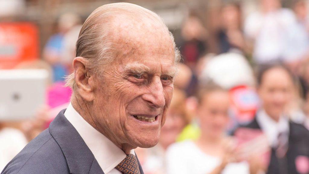 El príncipe Philip, marido de Isabel II, ha sido hospitalizado