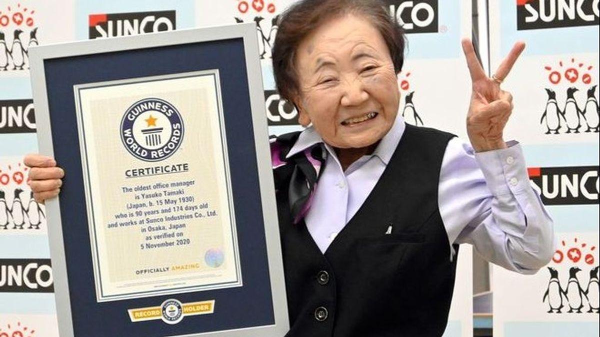 La jubilación no es una opción: con 90 años a esta japonesa ni se le pasa por la cabeza