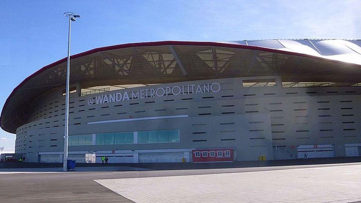 Madrid vacunará a bomberos y policías municipales en el estadio Wanda Metropolitano