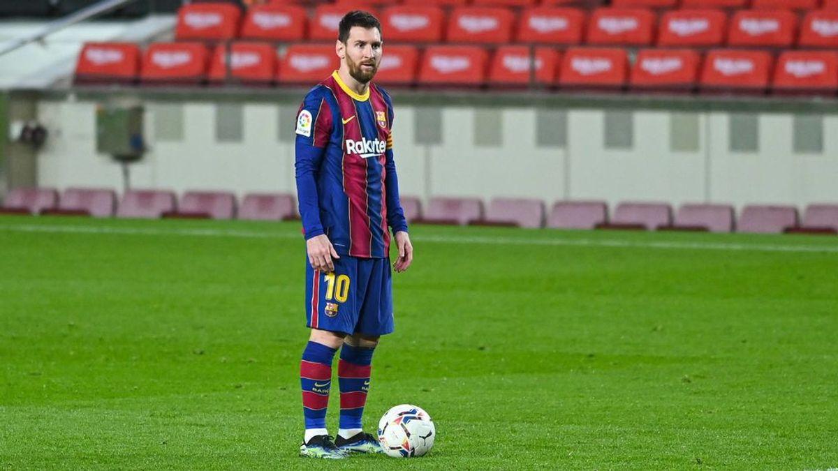 Messi, el capitán que salta el primero del barco